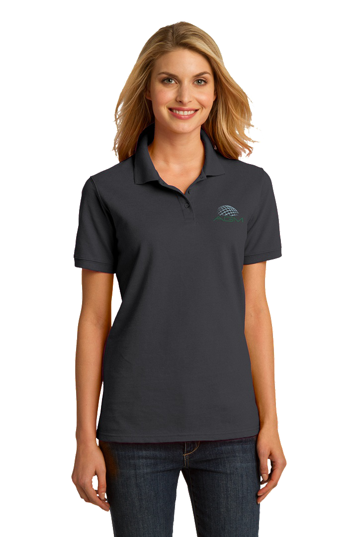 PORT & COMPANY LADIES RING SPUN PIQUE POLO